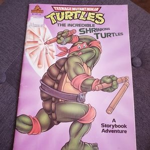 Ninja turtles book
